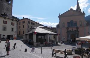 Piazza Cavour e il Kuerc - Bormio