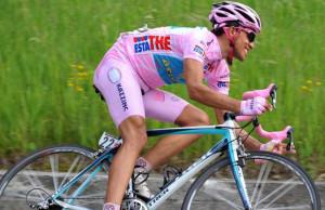 Alberto Contador a Bormio