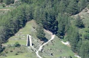 ruderi castello S Pietro Bormio