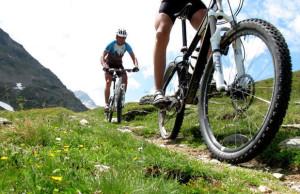 mountain bike a Bormio