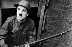 grande guerra Chaplin