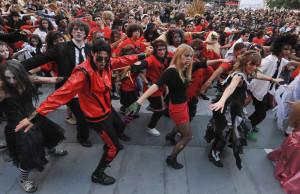 flash mob thriller bormio