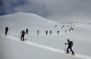 raduno scialpinistico ortles-cevedale foto