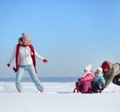 Vacanza a Bormio con la famiglia