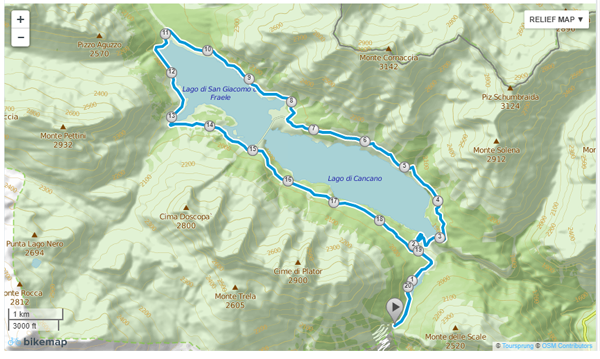 Giro Laghi di Cancano