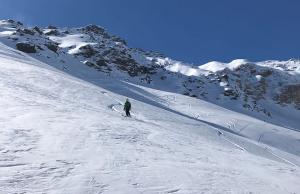 sciare ad aprile a Bormio